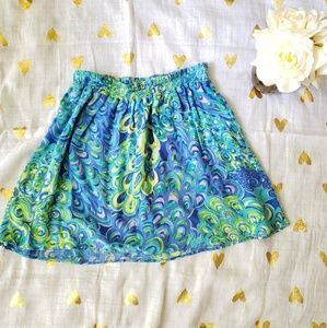 Lilly Pulitzer Amber Skirt in Lilly's Lagoon